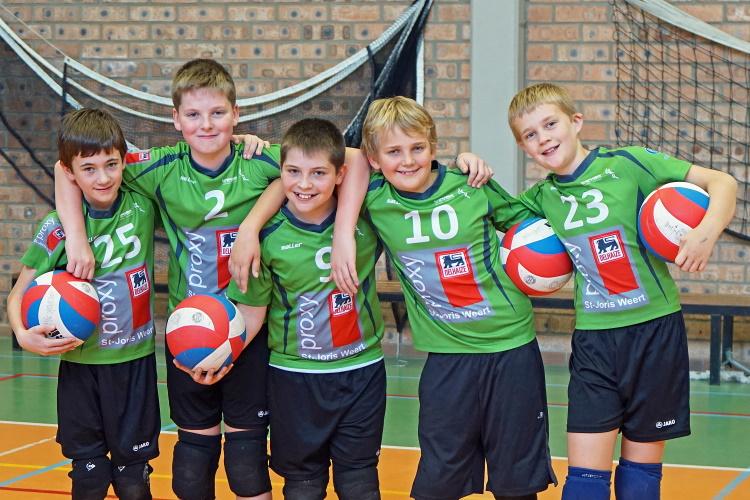 Ploegfoto Jongens U13