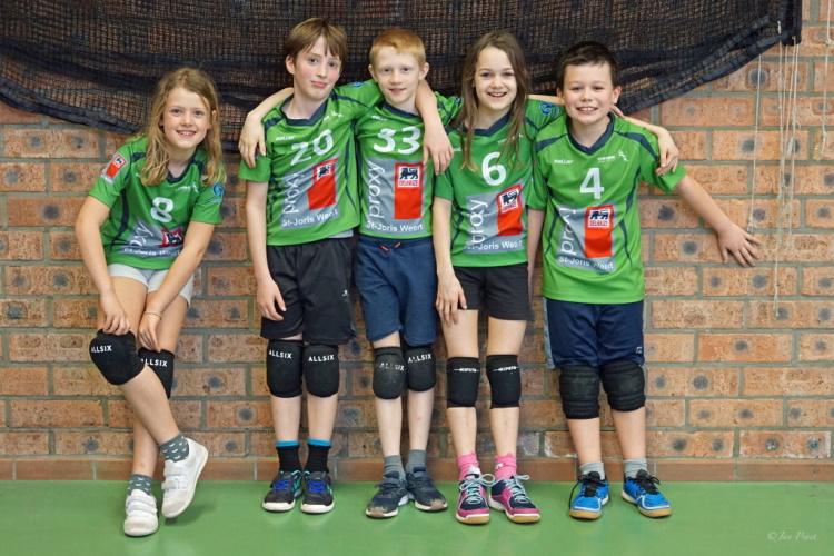 U11 Jongens ploegfoto
